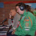 Peet en Linda wachten op vragenblok